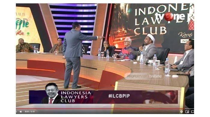 Kesal Ali Ngabalin Tak Henti Bicara di ILC, Karni Ilyas Beri Teguran: Acara Malam Ini Memalukan