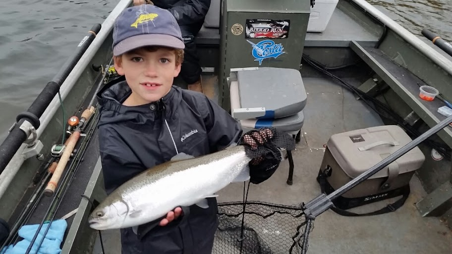 muskegon river steelhead fishing