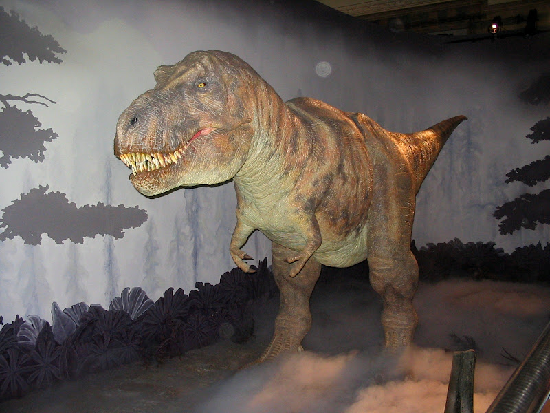 Makieta dinozaura