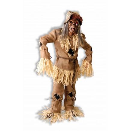 Disfraces de Halloween: Disfraz de espantapájaros tétrico