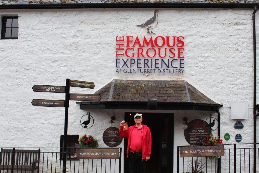 Pennant at Famous Grouse - Glenturret
