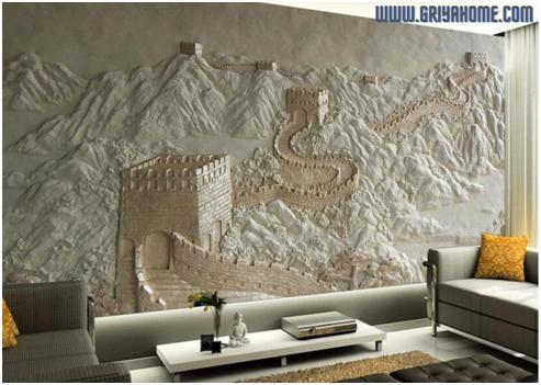 Cara Memasang Wallpaper Dinding Yang Benar Agar Terlihat Menarik