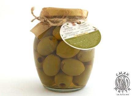 Оливки зелені без кісточки