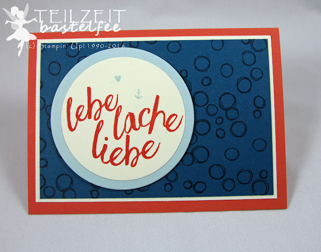 Stampin' Up! - In{k}spire_me #255, Color Challenge, Im Herzen, Playful Backgrounds, Layering Love
