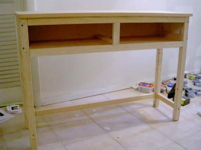 sideboard carcass build