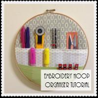 Embroidery Hoop Organiser
