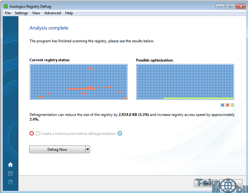 Auslogics Registry Defrag v9.0.0.0 Full