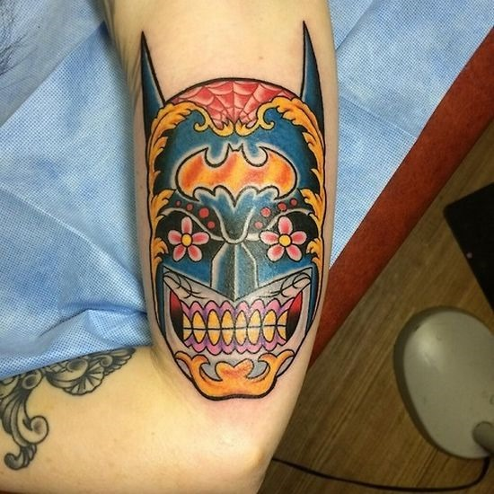 batman_inspirado_açcar_tatuagem_de_caveira