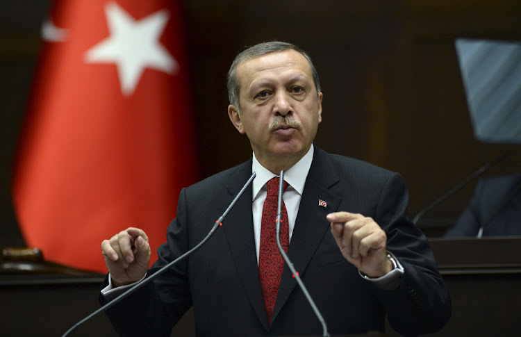 Turkish Prime Minister Recep Tayyip Erdogan. Picture: REUTERS