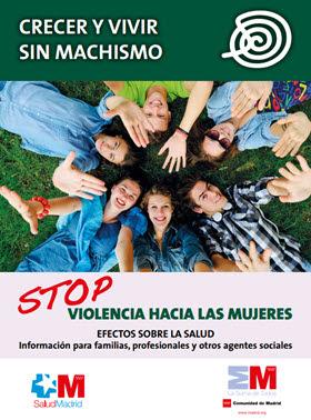 Guía 'Crecer y Vivir Sin Machismo. Stop violencia hacia las mujeres'