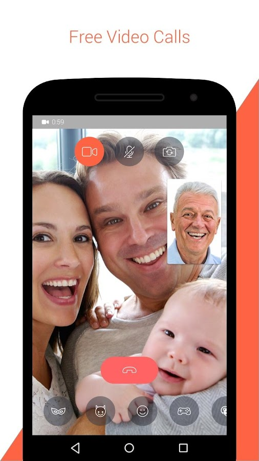 Screenshots of Tango - Free Video Call & Chat for Android