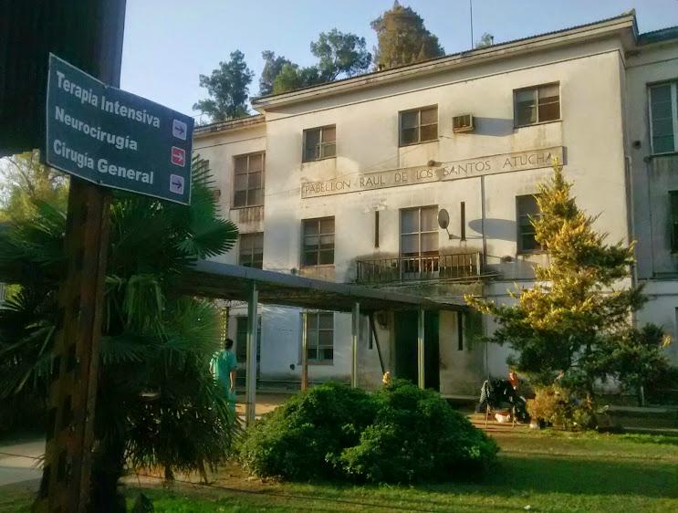 Collia volvió a anunciar obras edilicias en el hospital