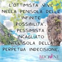 instagram perdonne buon mercoledi frase motivazionale ottimismo L'ottimista vive nella penisola delle infinite possibilità..jpg
