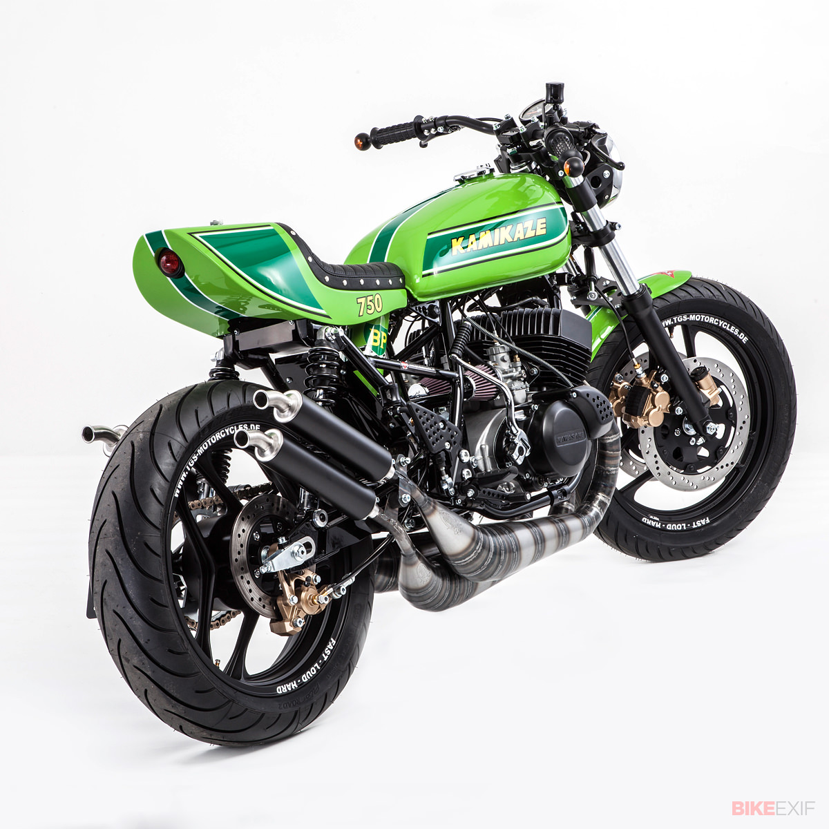 Kawasaki Zxr One Or Two Exhaust