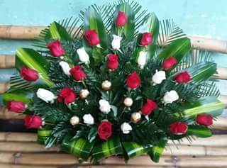 Arreglos Florales Grandes Para Iglesia Con Rosas Arreglos
