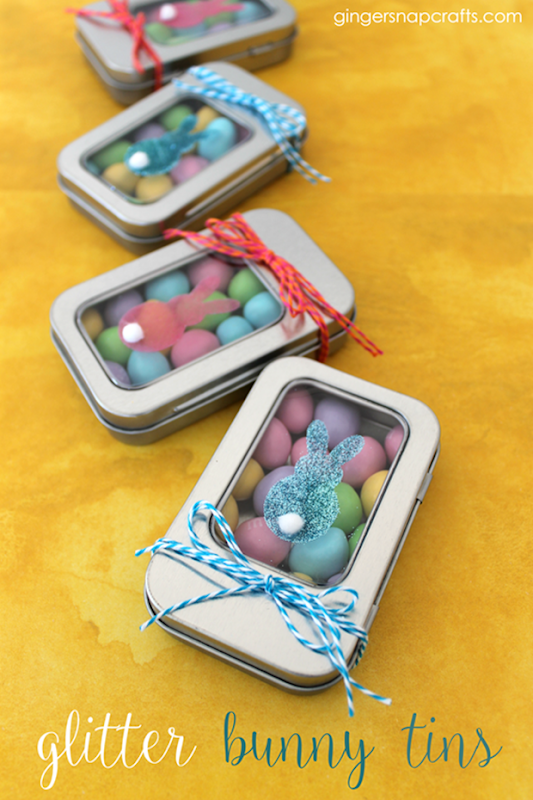 Glitter Bunny Tins #Easter #SilhouetteRocks #gingersnapcrafts_thumb (1)