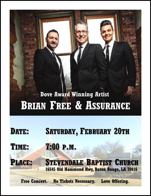 Brian Free Assurance 2016