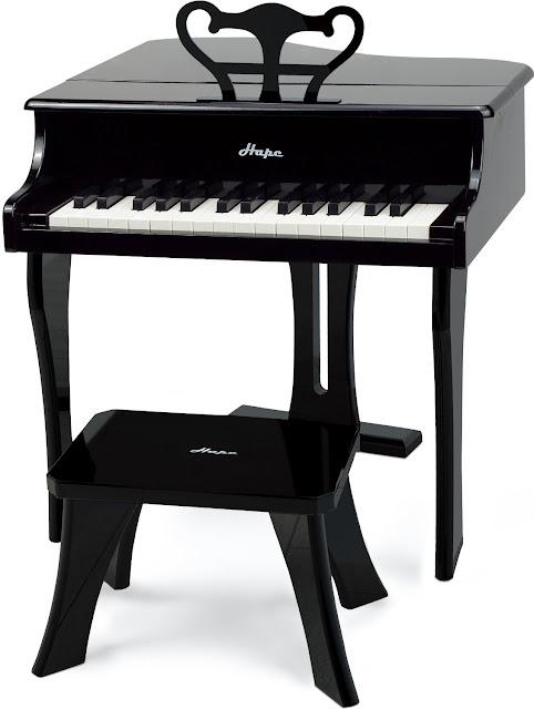 Sản phẩm Đàn Dương cầm Hape Happy Grand Piano, black