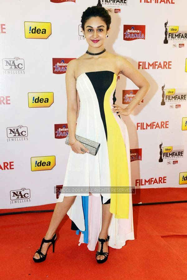 Aishwarya during the 61st Idea Filmfare Awards South, held at Jawaharlal Nehru Stadium in Chennai, on July 12, 2014.