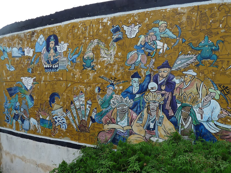 CHINE.YUNNAN.KUN MING Village des minorités 2 - P1270574.JPG
