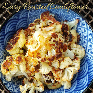Easy Baked Cauliflower French Style.