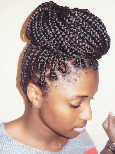 Crochet Box Braids With Rubber Bands : Box Braid Wash Day A Desired Beauty