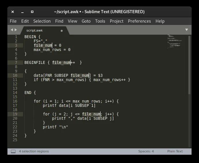 محررات نصوص Linux اختيارات متعددة سامية