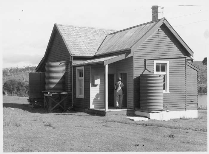 Bruny Island Quarantine Station - Hut 5 - From East Date : 1945