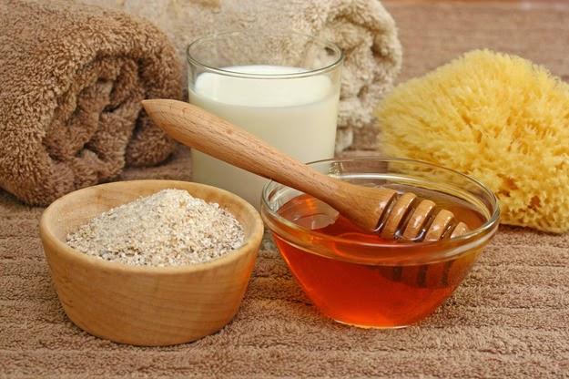 Домашний скраб с медом и солью