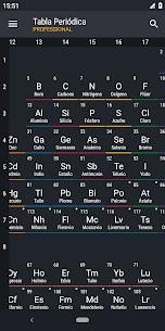 Tabla Periódica 2019 PRO: Química 8