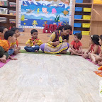 Basant Panchami Celebrated by Nursery Evening Section at Witty World, Chikoowadi (2017-18)