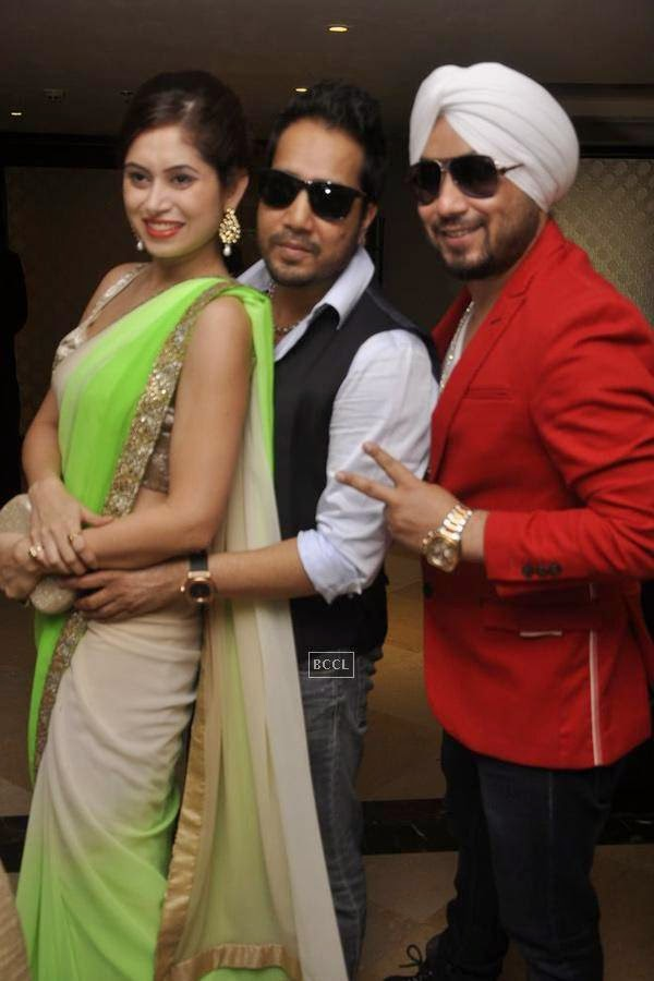 Mika Singh during the launch of Dilbagh Singh's music album The Victorian Secrets, in Mumbai, on July 21, 2014. (Pic: Viral Bhayani)