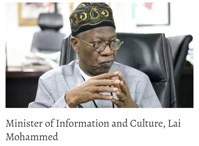Lai Mohammed: We Know Where Kidnappers Are, Only Being Careful