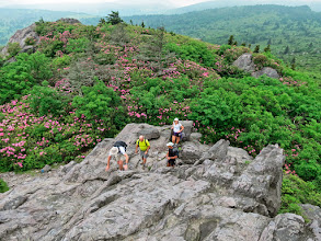Photo: Scrambling without the Clouds