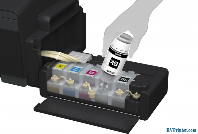 How to deal with Epson L1300 printer's Ink Out Error