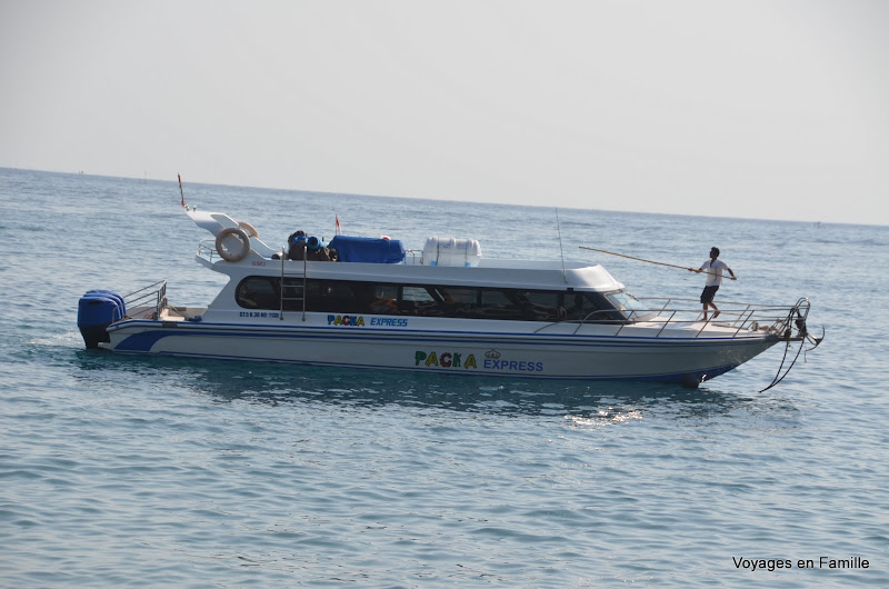 pacha express speed boat