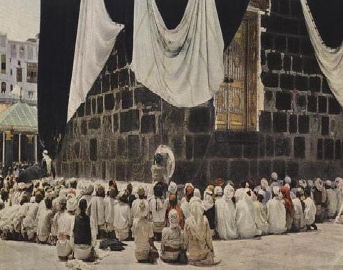 the door of the kaaba