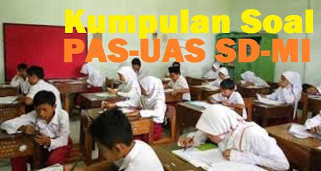 Latihan Soal UAS- PAS Kelas 6 SD/MI Tahun Pelajaran 2020/2021