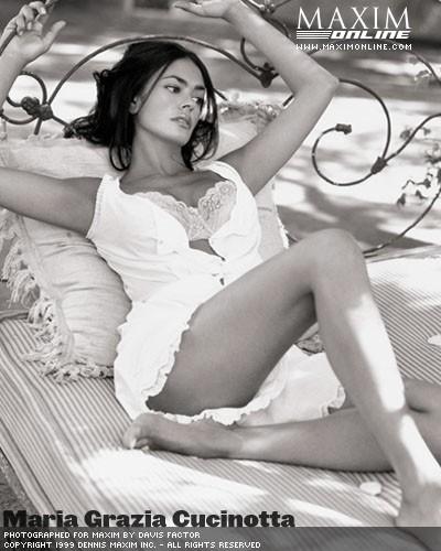 Maria Grazia Cucinotta Italy Actor