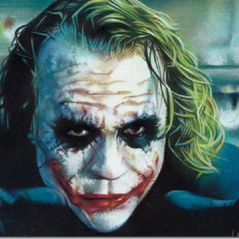 como se hace el maquillaje de Joker para halloween