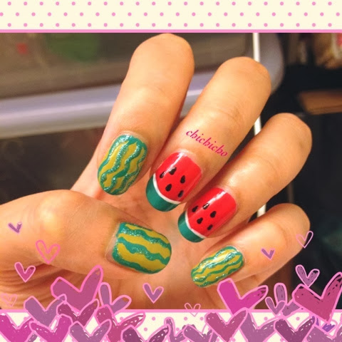 Watermelon Water Decal Nail Art - Born Pretty Store