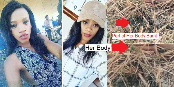21-year-old South African Lady Was R*ped, Murdered & Burnt (Photos)
