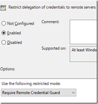 The Microsoft Platform: Using Remote Credential Guard to