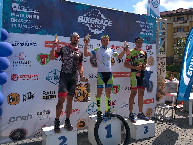 Un podium la categoria de varsta, cu Florin Benghea in locul lui Rares.