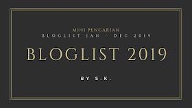 Mini Pencarian Bloglist Jan - Dec by S.K.