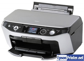 How to reset Epson RX590 printer