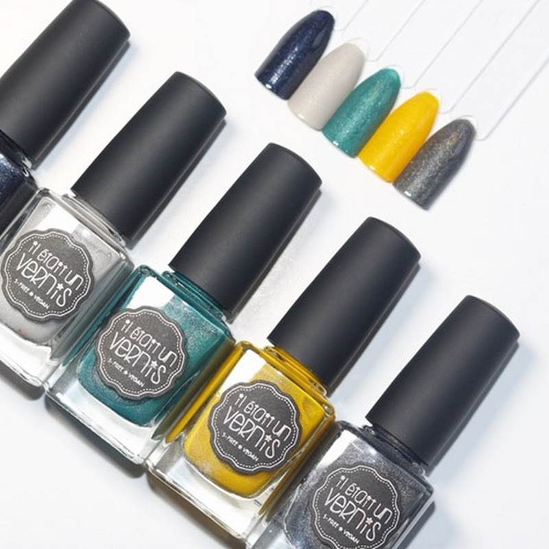 [Swatches] Il était un vernis #HASHTAG Collection