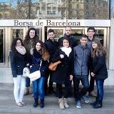 Els alumnes d'Administració i Finances visiten la Borsa de Barcelona.