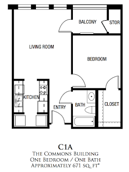 Go to C1A Floorplan page.
