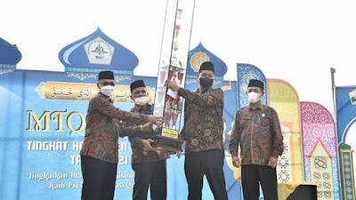 Bupati Tutup MTQ Ke 35, Gandapura Raih Juara Umum Tingkat Kabupaten Bireuen
